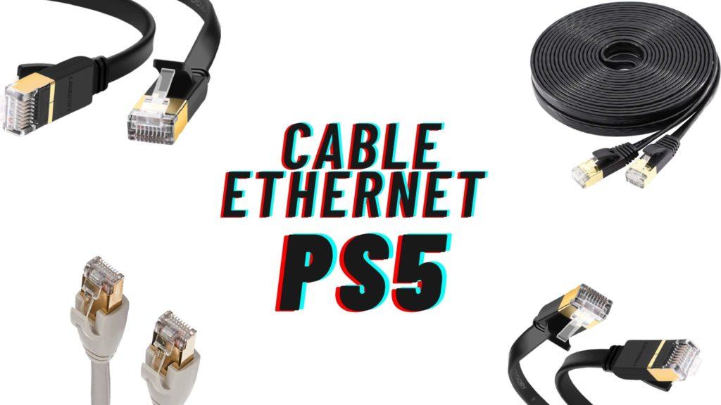 3 meilleurs cables ethernet ps5