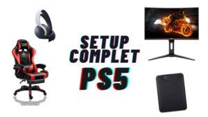 setup complet ps5
