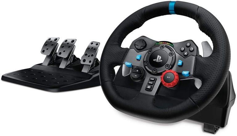 Logitech G29 - Le meilleur rapport qualité-prix pour le volant et les pédales de la PS5