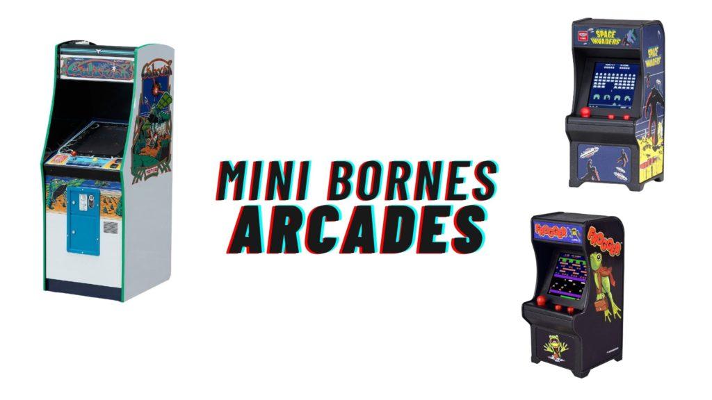 mini bornes arcades