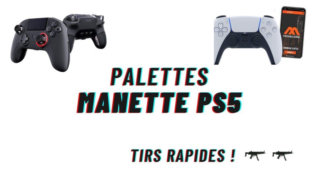 palette manette ps5