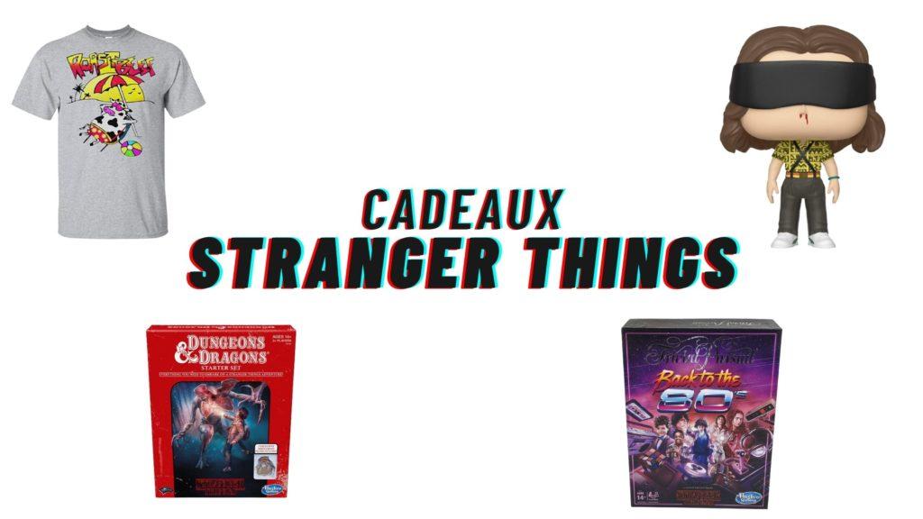 stranger things cadeaux