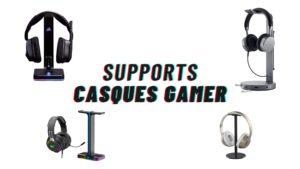 support casque gamer
