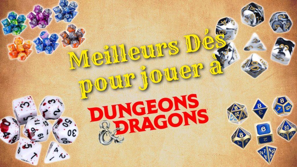 des pour jouer a donjons et dragons
