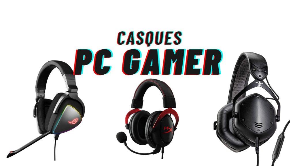casques pc gamer