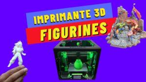 imprimante 3d miniature figurines