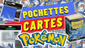 pochettes cartes pokemon