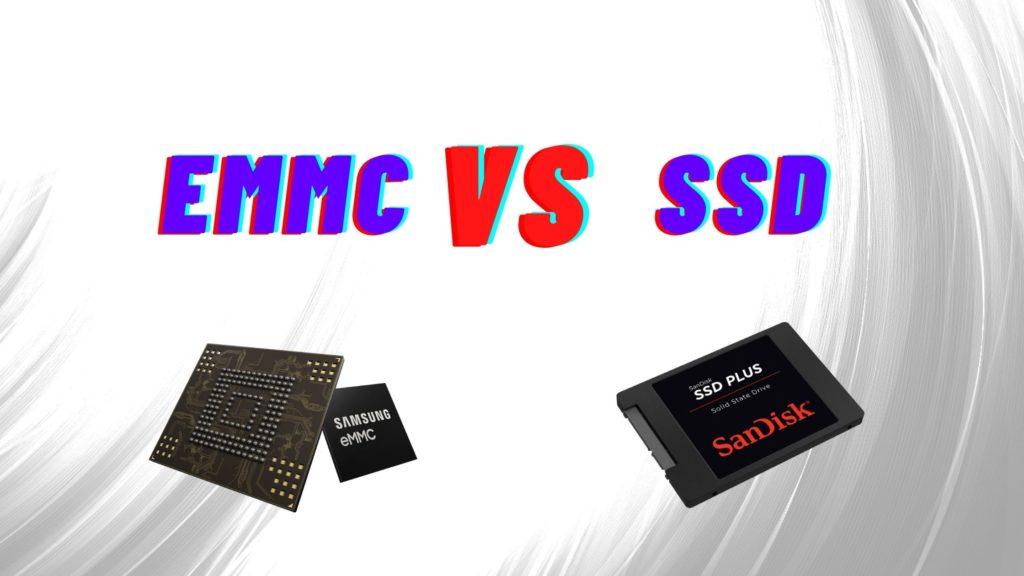 emmc vs ssd