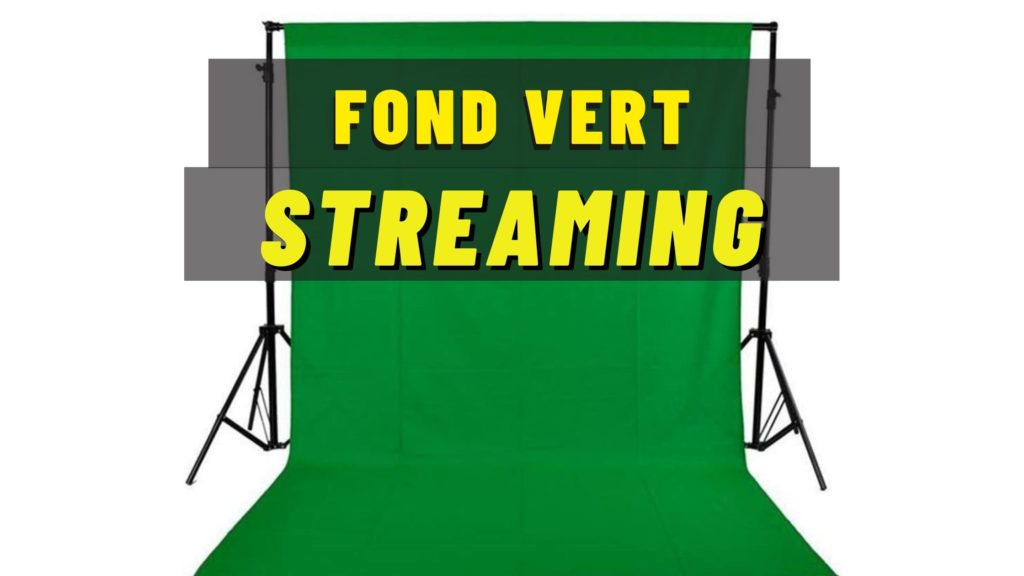 fond vert streaming