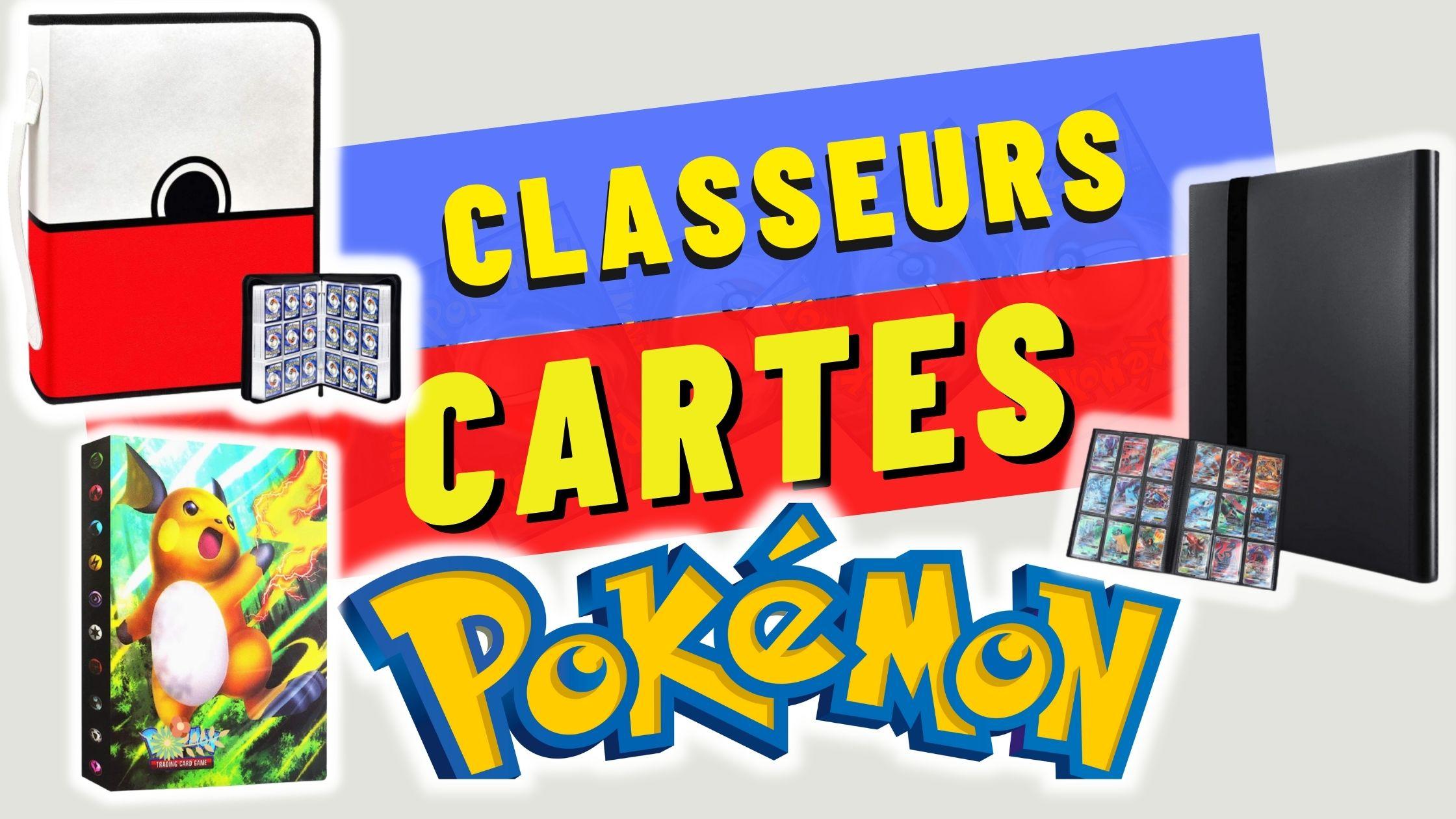 classeur cartes pokemon