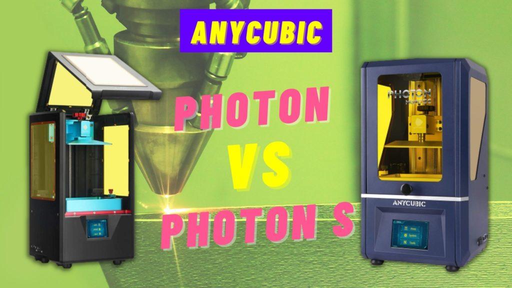 anycubic photon s vs