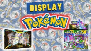 display pokemon