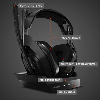 casque pour streamer ASTRO Gaming A50 Casque sans fil