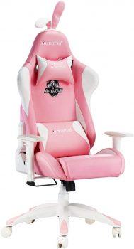 chaise gamer rose autofull