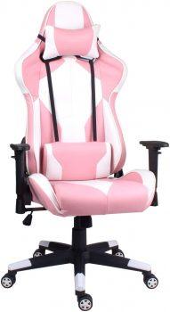 chaise gamer rose euco