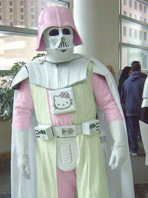 cosplay dark vador pink