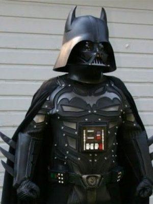 dark vador cosplay batman
