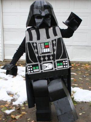 dark vador cosplay lego