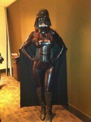 dark vador cosplay sexy